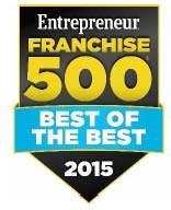 Entrepreneur Franchise 500 BEST OF THE BEST 2015