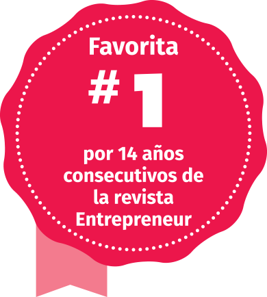 Voted#1 for 14 years in a row by Entrepreneur magazine