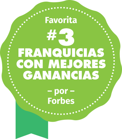 Voted#3 top franchise for the money by Forbes